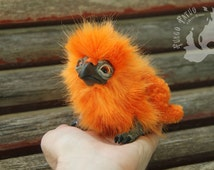 PREORDER - Custom Phoenix Chick - Made to order Poseable art doll plush