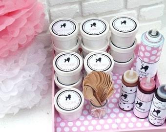Ice Cream Sundae Bar Kit - Pink Poodle Party