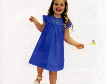 Mamie Pattern / Round Yoke Dress Pattern / Girls Dress Pattern /  Children's Corner  #280