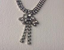 Vintage Rhinestones  necklace