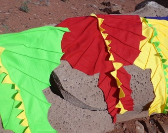 Your Choice of Pink, Red, Green, Yellow, or Blue Dragon or Dinosaur Costume Dress up for Child, Adult or Infant