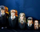 Set of Seven Harry Potter Nesting Dolls