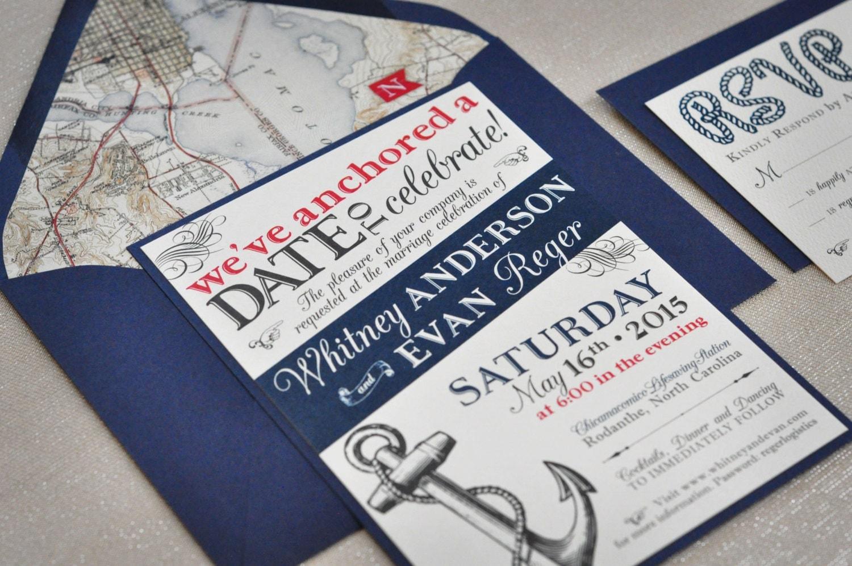 Cruise Wedding Invitations