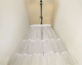 "Petticoat-18"" White- Fits under my 19/21"" dresses."