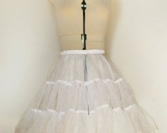 "Petticoat-18"" White- Fits perfectly under my dresses."