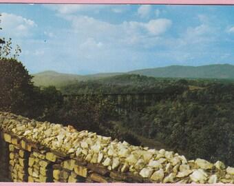 "Ca. 1960's ""Riverside Park"" Lynchburg, VA Topographical Picture Postcard - 2159"