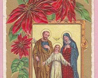 "Ca. 1908 ""Merry Christmas"" Greetings Postcard - 350"