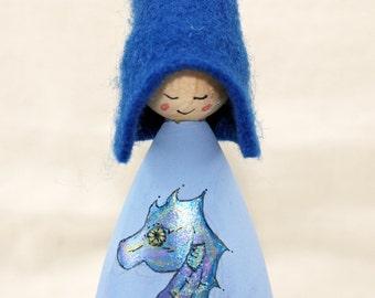 Seahorse Cornish Pixie Elf