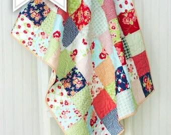 Quilt Kit - Miss Kate Baby Quilt Kit - Small Lap Quilt Kit - MKQK