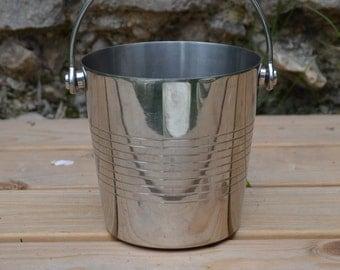 Mini Silver Champagne Bucket