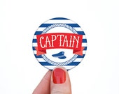 Narrow Boat Badges Crew // Funny Canal Holiday Gift // Captain Boat Badge // Narrowboat Accessories / Duck Spotter / Galley / Gate Crasher