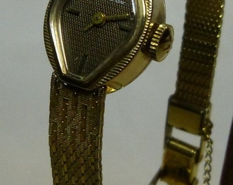 Vintage 1960s Womens Hamilton Wrist Watch