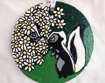 Bambi Inspired Hand Painted Ornament