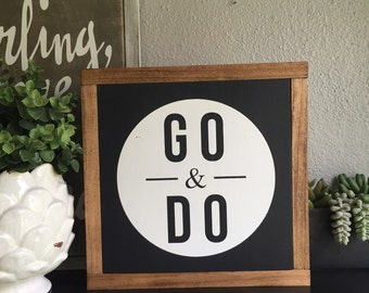 Good Vibes Sign Rustic Sign Home Decor Wood Sign Farmhouse