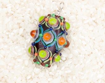 Lampwork - Oriental style bead