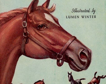 The Real Book About Horses by Jay Sherman, illustrated by Lumen Winter