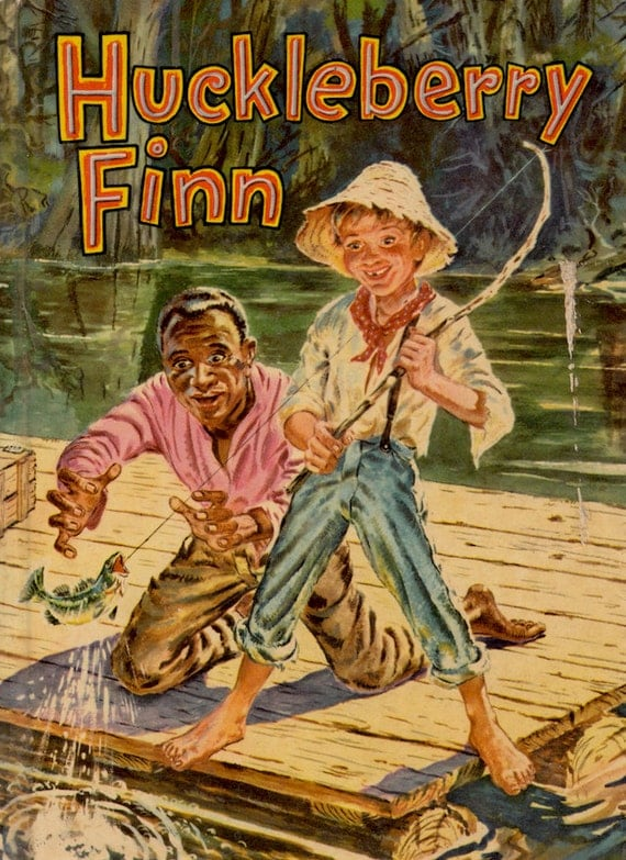 huckleberry finn Huckleberry huck finn is a fictional character created by mark twain who first appeared in the book the adventures of tom sawyer and is the protagonist and narrator of its sequel, adventures of huckleberry finn.