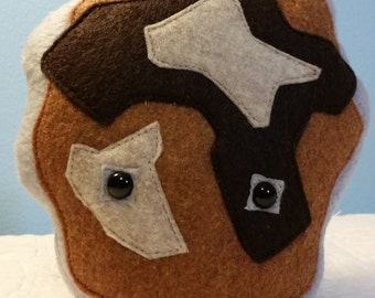 Handmade Earth Spirit Plush/Stuffed Toy