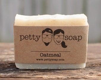 Oatmeal Soap - All Natural Soap, Cold Process Soap, Vegan Soap, Unscented Soap