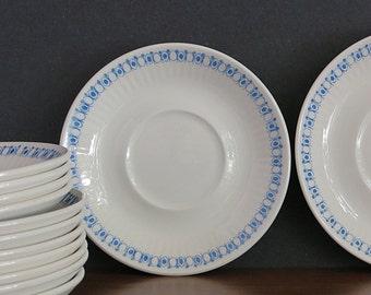 Vintage Figgjo Flint Norway Lotte Saucers - Turi Gramstad Oliver Danish Modern - Figgjo Lotte - Norway - Turi-Design - 1 Smaller Available