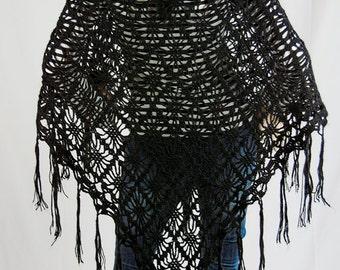 Warm and Cozy Crochet Prayer Shawl