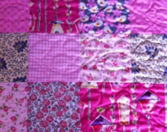 Baby Cot Quilt,  Handmade