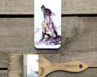 Wolf iPhone case, cool mobile accessories, gear for iPhone 6, gift for him