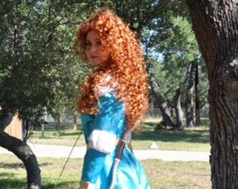 Couture Brave Princess Merida Wig