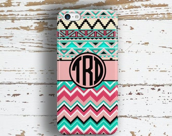 Teen fashion, Pink Iphone 4 case, Aztec iPhone 5c case, Chevron iPhone 6 case Girls Iphone 5 case Girly Iphone case Tribal turquoise (1308)