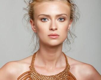 70's Fringes Necklace