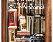 Books photography, fine art photography, library art, Paris print, large wall art, brown decor, oversized art, 8x12, 20x30, 24x36 print