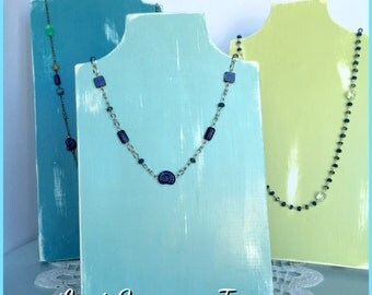 Set of 3 Necklace Displays
