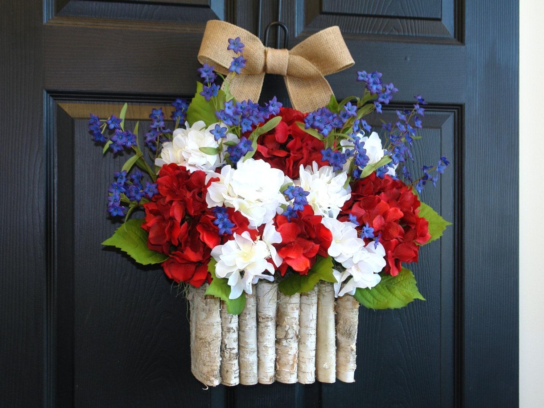 Veterans Day wreath spring wreath summer wreaths patriotic