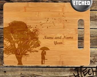 Personalized / Custom Wedding cutting board - Marriage - Wedding Gift