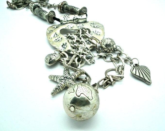 Rocker chic necklace Bohochic jewelry