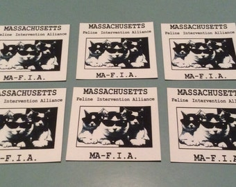 Massachusetts Feline Intervention Alliance magnet