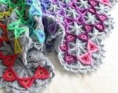 Crochet Pattern, Prism Blanket, Afghan, Throw, Baby