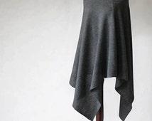 Women's poncho/Nursing Cover/Nursing poncho/Knit poncho/gray poncho/women's sweater/women's cape/gray scarf/gray cape/knit cape/wool poncho