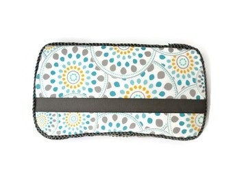 Turquoise Medallion Wipes Case - Baby Wipe Case - Wipes Case - Baby Accessories - Baby Shower Gift - Made to Order SKU: SG0001MT
