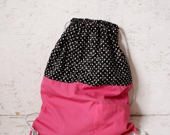 Handmade Mulitcolour Gym Bag Made From Repurposed Fabrics
