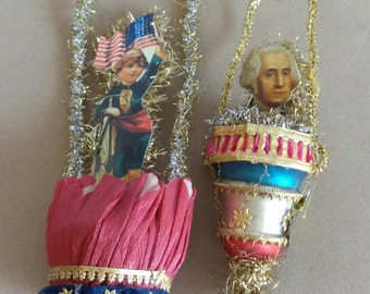 July 4th Vintage Style Decorations