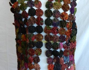 Vinltage Handmade Yo Yo Vest