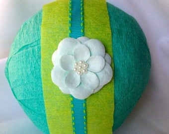 Surprise ball women ladies  teen girl  birthday gift party favor crepe paper ball treasure ball  thinking of you get well friendship gift