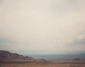 Outside Las Cruces - Photographic Print - desert, native, southwest, american, New Mexico, blue, wild, wanderlust, travel, brown, mountains