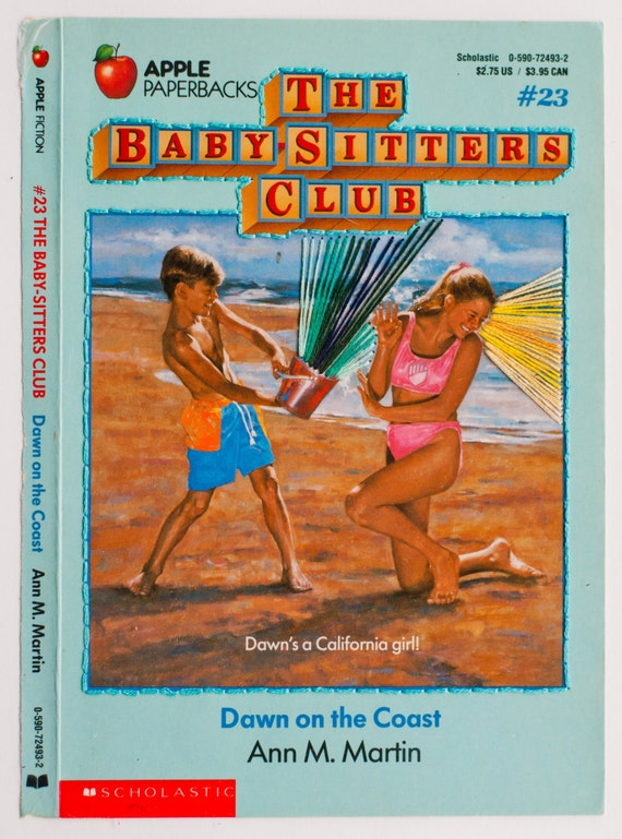 Embroidered Book Cover - The Baby-Sitters Club: Dawn on the Coast