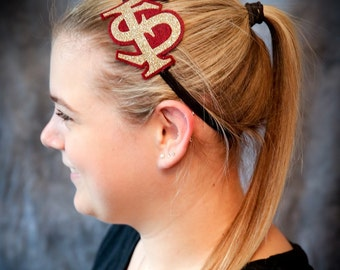 "Florida State ""FS"" headband"