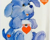 Butterick 3371, Care Bear Cousins, Loyal Heart Dog Pattern, Stuffed Dog Pattern, Uncut, Vintage