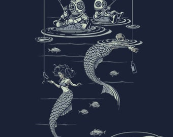 Mermaid Fishing