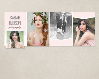 Facebook timeline cover template photo collage photos digital PSD FC063