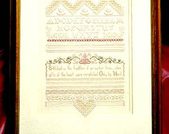 Cross N Patch Only By Hand Needlework Pattern to Stitch Emie Bishop Counted Cross Stitch Charted Design Decorative Stitching Sampler Pattern